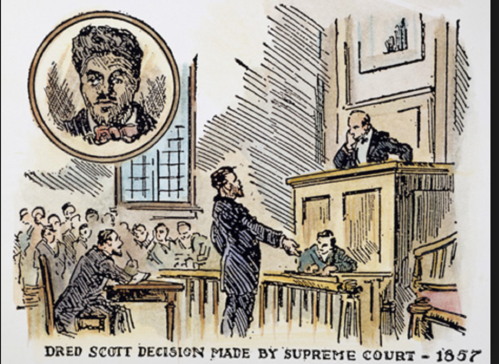 the scott vs sandford case Transcript of dred scott v sanford (1857) december term, 1856 dred scott versus john f a sandford dred scott,  all the proceedings in the case.