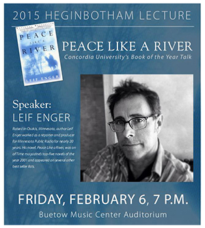 essays on peace like a river by leif enger