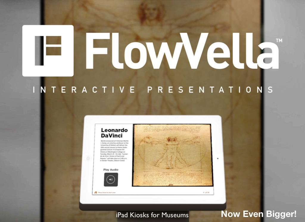 Interactive presentation software